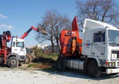 Biotrituratori Ecoline Track Mounted