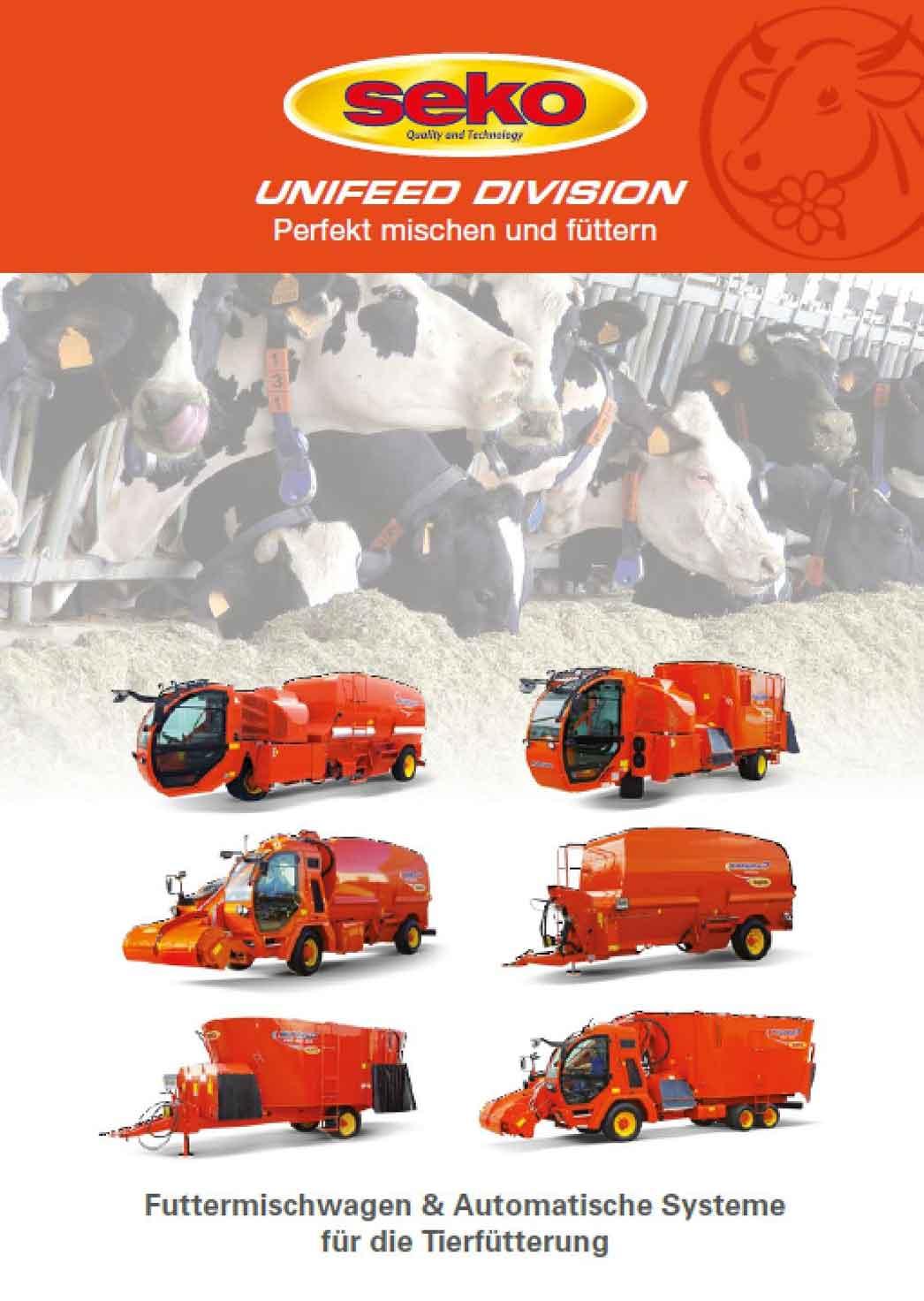 Seko Unifeed Futtermischwagen Katalog