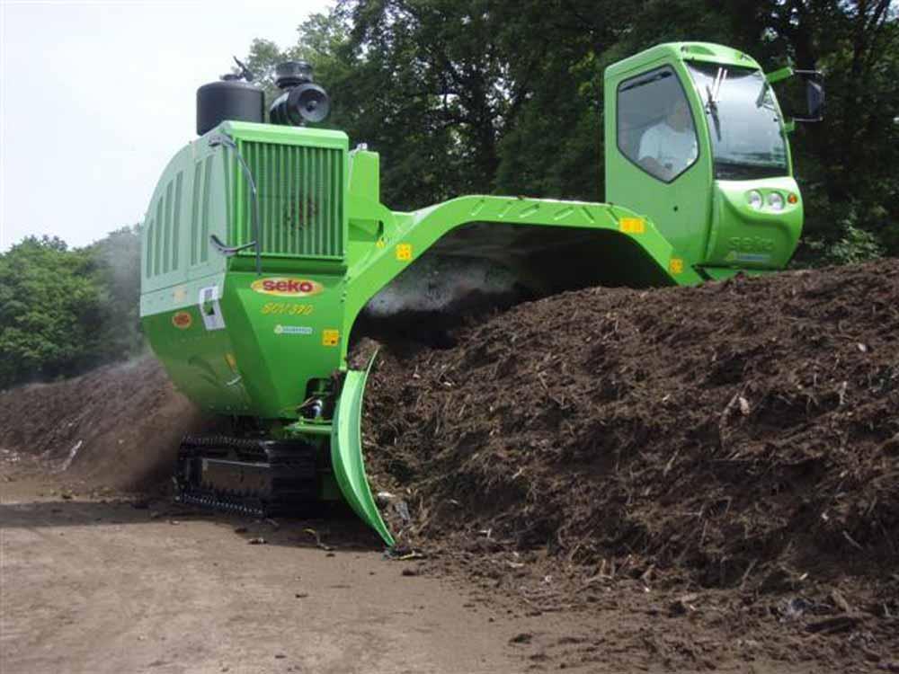 Rivoltatrice cumuli compost Seko SCV370
