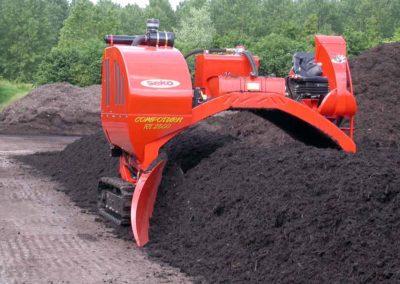 Rrivoltatrice cumuli compost Seko SCV470