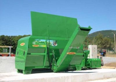 Seko carri trincia miscelatori samurai5 green