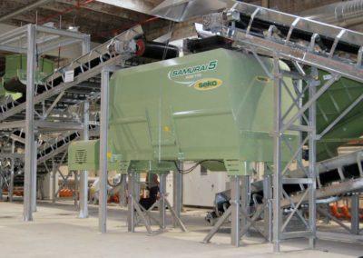 biotrituratore Seko Samurai5 Green & Compost stazionario elettrico 04