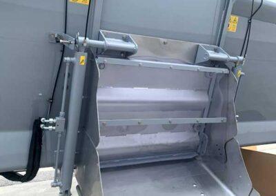 dettaglio biotroturatore samurai7 elettrico green&compost