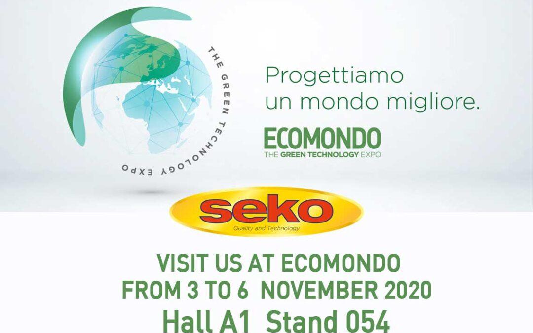Seko at Ecomondo