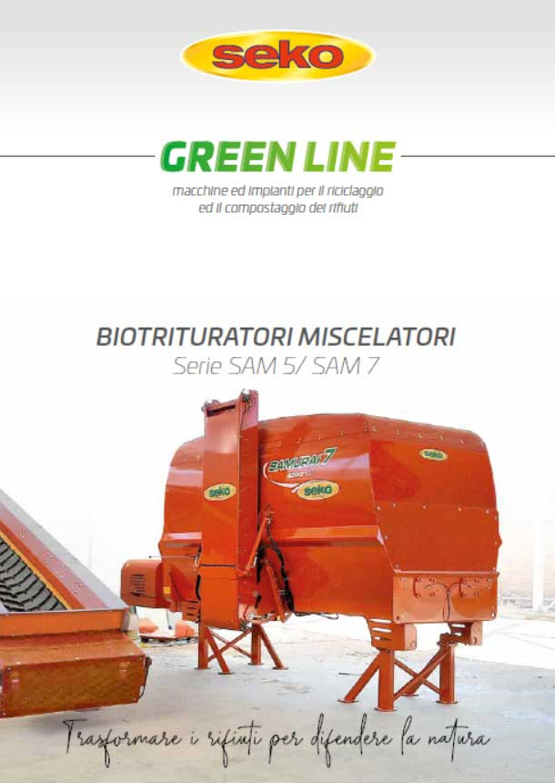 catalogo biotrituratori seko greenline