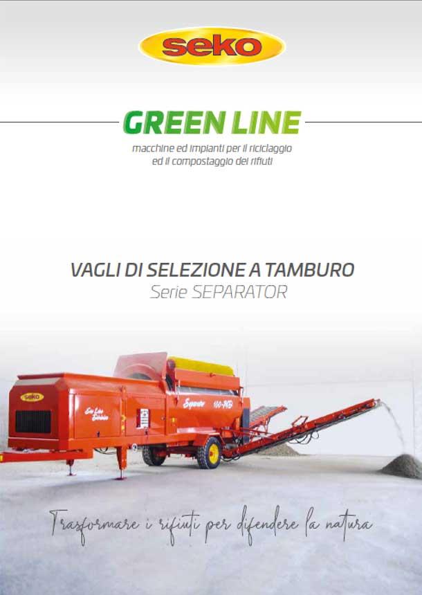 catalogo vagli di delezione seko greenline