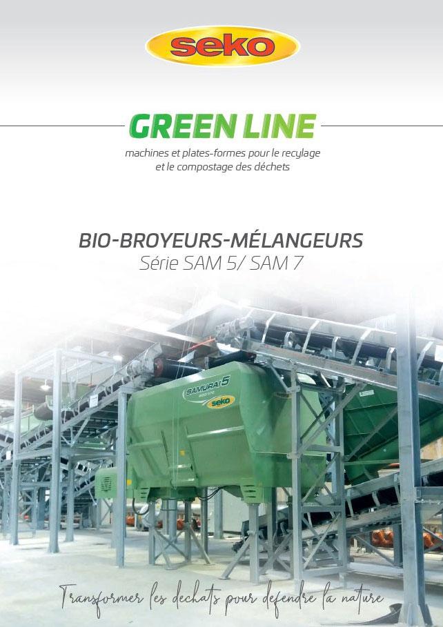 Seko Bio broyeurs melangeurs catalogue