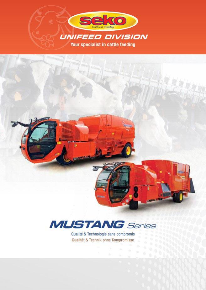 Catalogue Seko Mustang fr-de cover