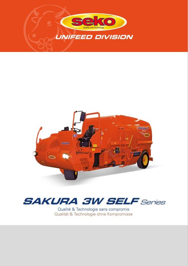 Catalogue Seko Sakura 3W Self fr de cover