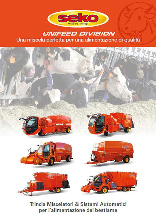 Catalogo carri miscelatori unifeed Seko Industries
